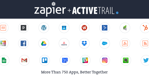 How to Integrate ActiveTrail with Any System- Using Zapier!
