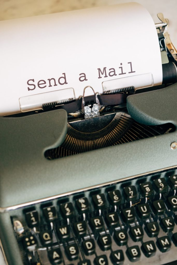 write an email