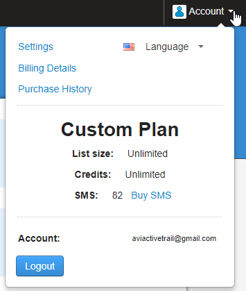 Custom Plan- ActiveTrail