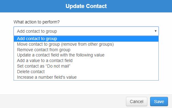 update comtact