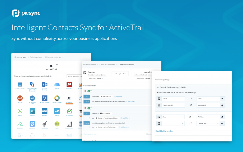 Connect ActiveTrail to PieSync Image 1