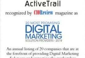 ActiveTrail Recognized by CIOReview Magazine